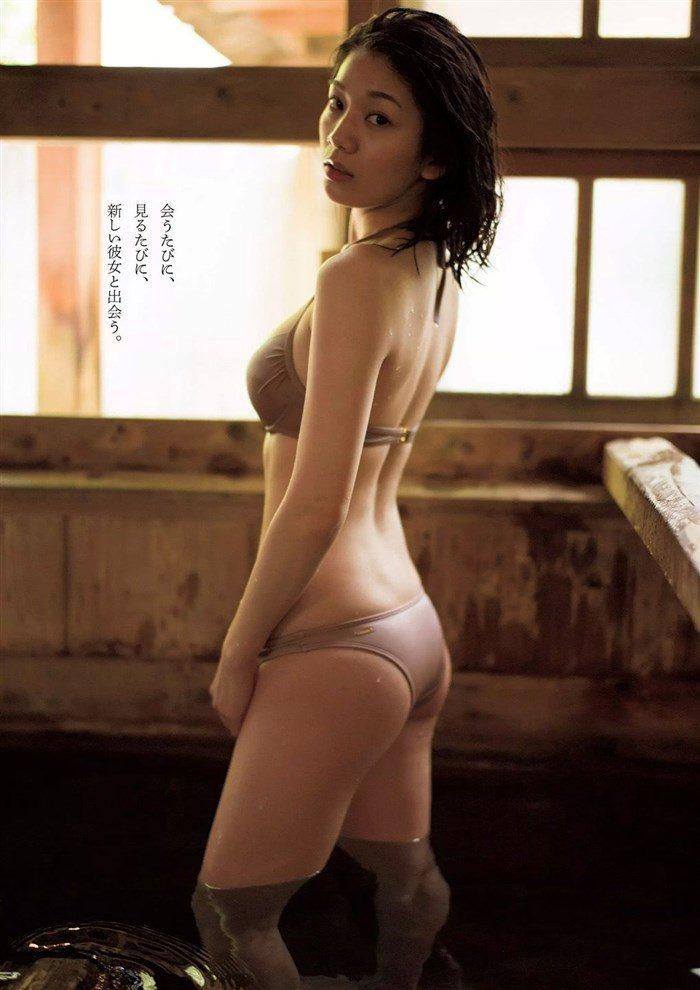 【画像】佐藤美希 お椀型の形良いソソるおっぱい!水着グラビアまとめ!!0057manshu