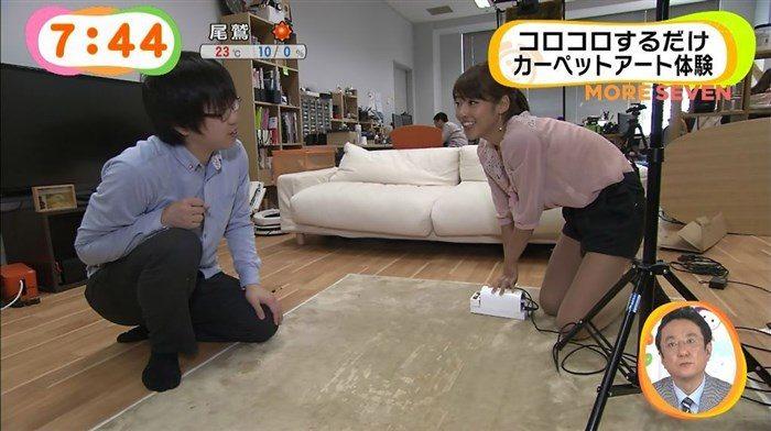 【画像】岡副麻希アナの天然すぎるお宝キャプ!これはガチでオナネタ週ですわ0036manshu