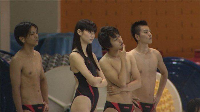 【画像】新川優愛ちゃんがドラマで魅せたハイレグ競泳水着がものすげええええええ0011mashu
