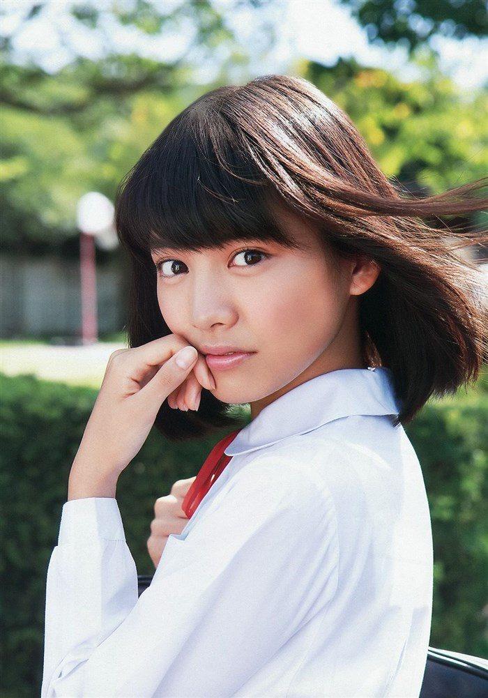【画像】松永有紗のJK制服、スク水、下着グラビアが初々しくてすこwwwwww0011manshu