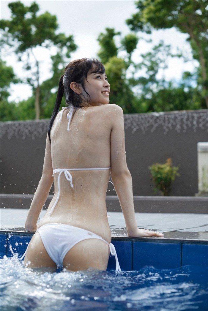 【画像】久慈暁子のスレンダーボディ!プリケツ水着グラビアがぐうシコwwww0014manshu
