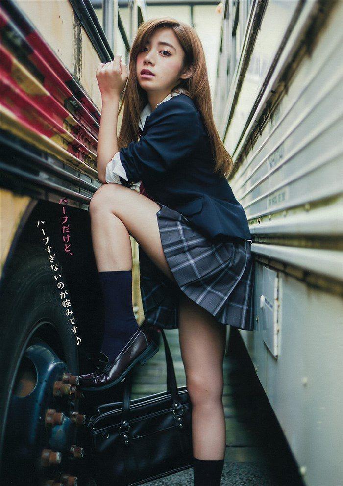 【画像】池田エライザの巨乳や太もも露出とか股間迷惑な高画質グラビア!!0002manshu
