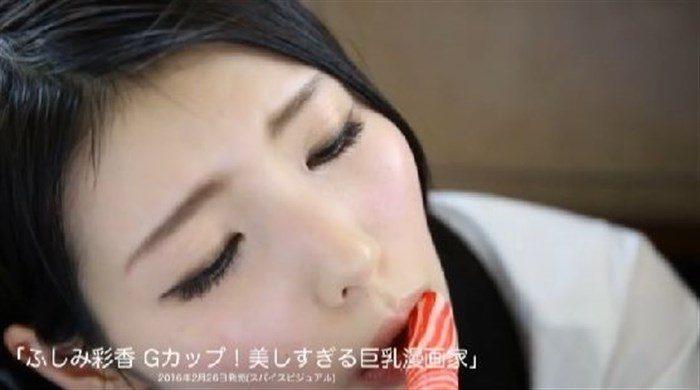 【画像】ふしみ彩香のTHE・マンスジ!!こんな素晴らしい一本筋見た事ないww0024manshu