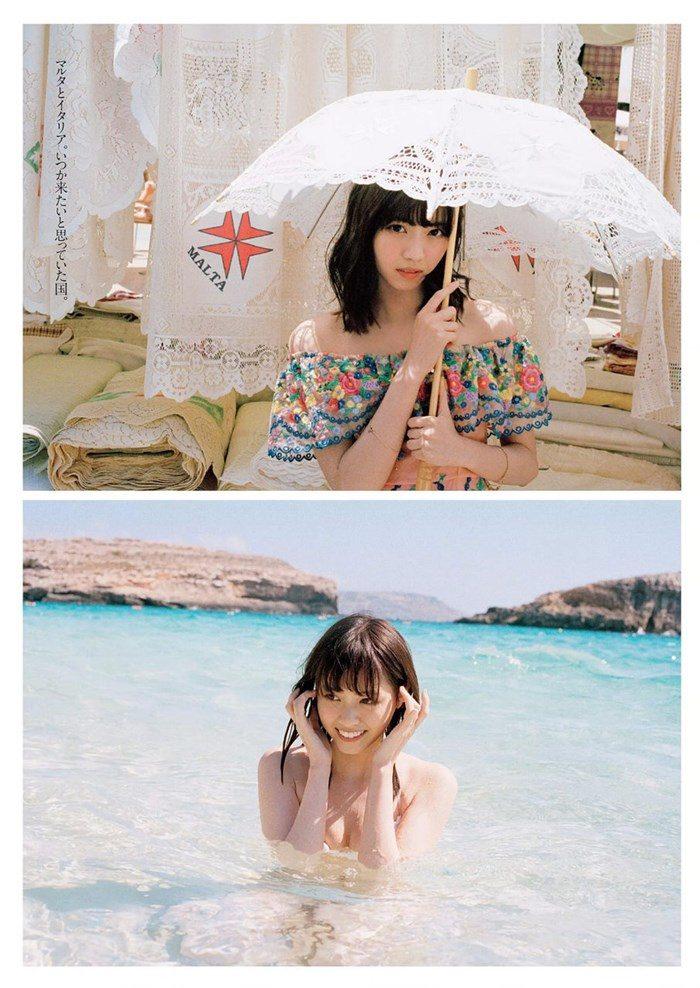 【画像】乃木坂西野七瀬のスピリッツ最新写真集!可愛すぎてシコシコ不可!0053manshu