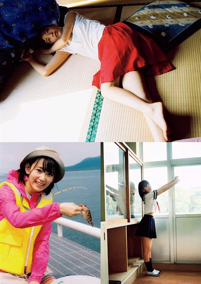 【画像】HKT宮脇咲良のガリ巨乳が堪能できる週プレ水着グラビア!!0004manshu