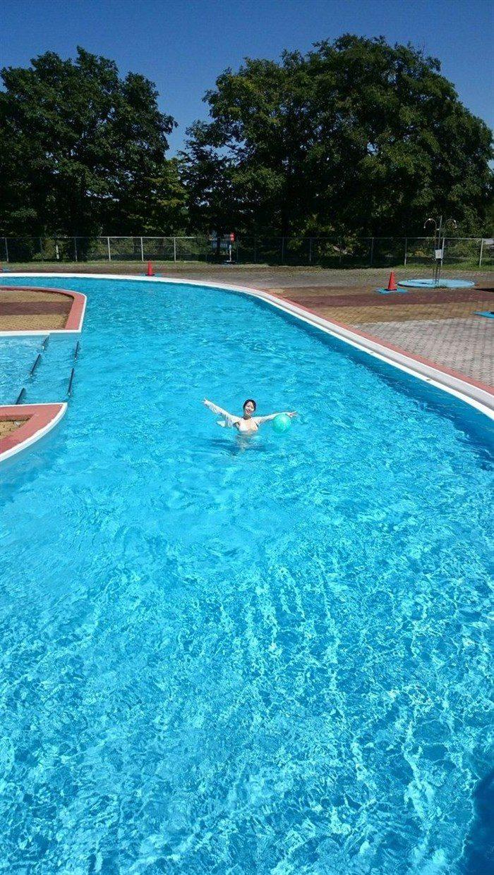 【着エロ画像】泉水蒼空の豊満ボディにこの水着面積は犯罪ですわwwww0040manshu