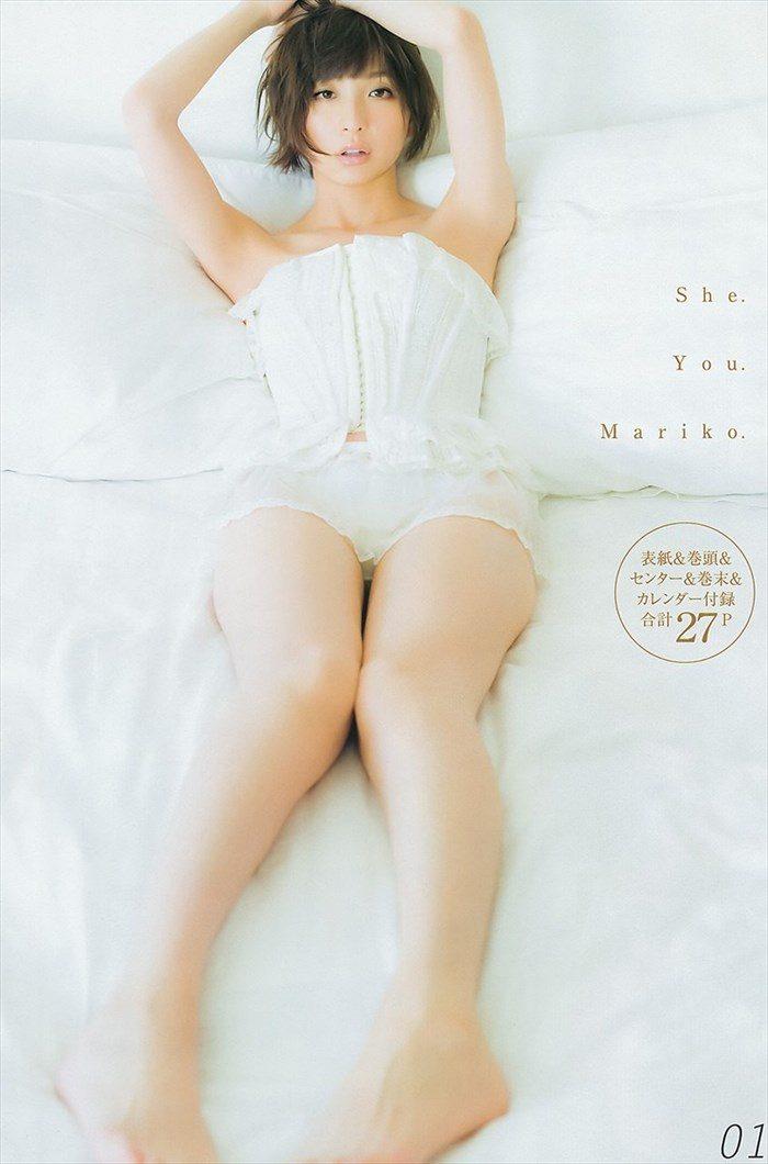 【画像】篠田麻里子さん 全盛期の水着グラビアがエロ過ぎたと話題に!完全にokazuグラビア0057manshu