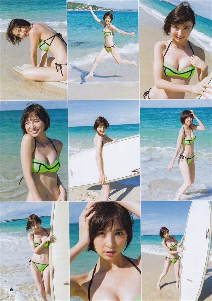 【画像】篠田麻里子さん 全盛期の水着グラビアがエロ過ぎたと話題に!完全にokazuグラビア0025manshu