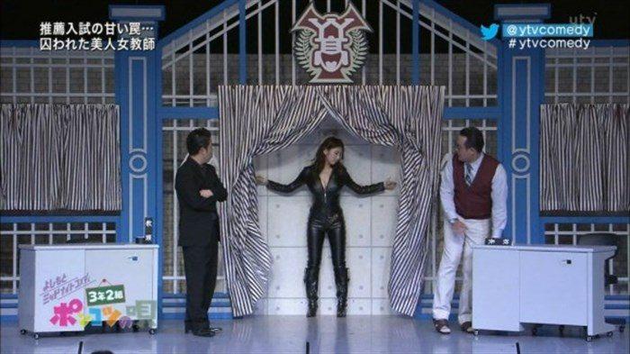 【画像】グラビアアイドル亜里沙がテレビで乳を鷲掴みされててくっそエロいwwww0113manshu