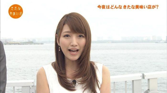 三田友梨佳アナが汗まみれの日村に抱きつかれてガチで嫌そうwwww
