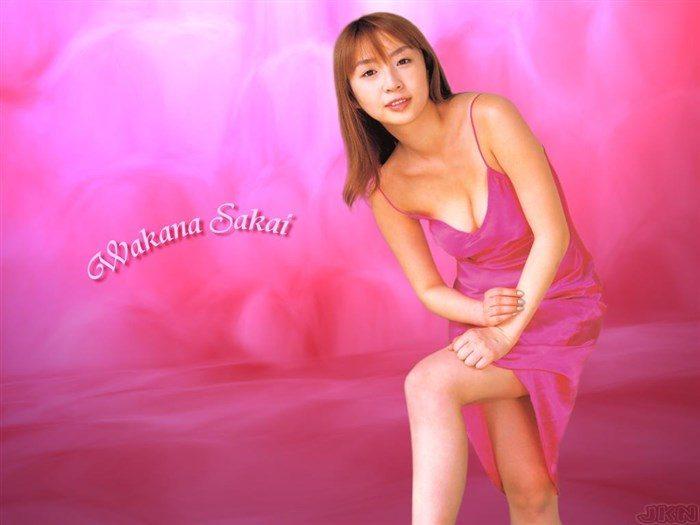 【画像】全盛期の酒井若菜さん、かなり乳を放り出しててドスケベ過ぎるwww0120manshu