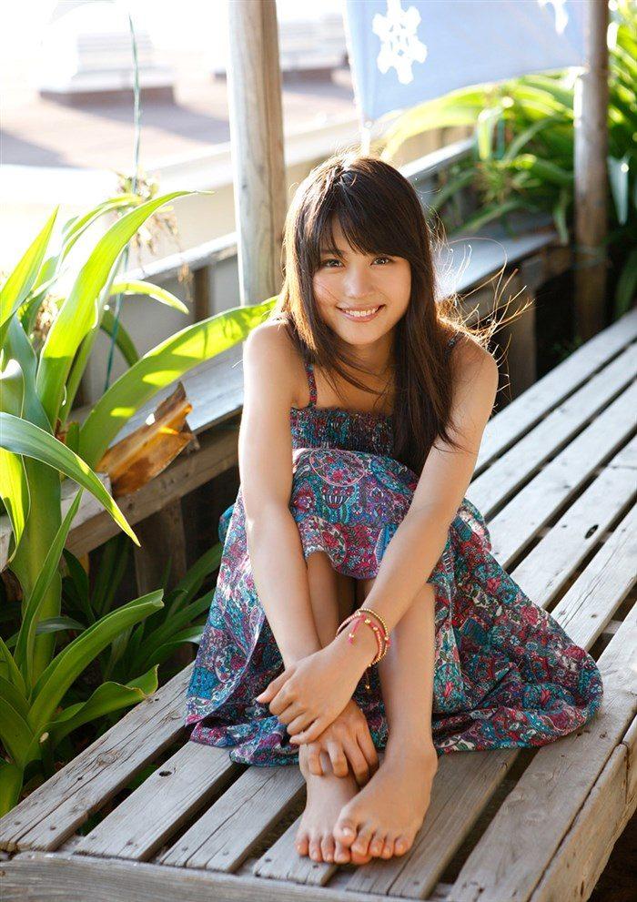 【画像】女優有村架純ちゃんの水着グラビア!!おっぱいが意外とデカいwwww0073manshu