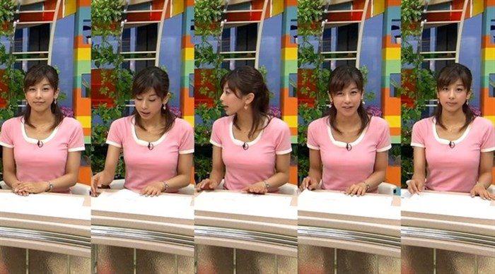 【画像】加藤綾子のEカップ着衣おっぱいが綺麗なお椀型でそっと手の平でタッチしたくなるwwww0001manshu