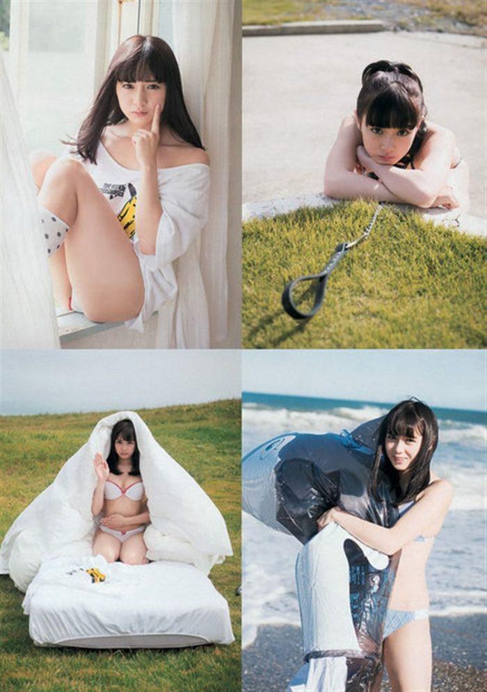 【画像】ぱすぽ☆奥仲麻琴のヤングマガジングラビアが股間に訴えかけて困るww0025manshu