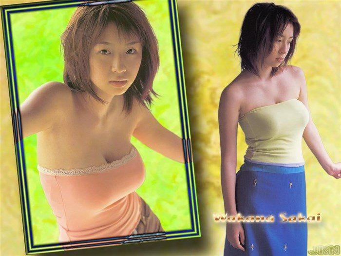 【画像】全盛期の酒井若菜さん、かなり乳を放り出しててドスケベ過ぎるwww0051manshu