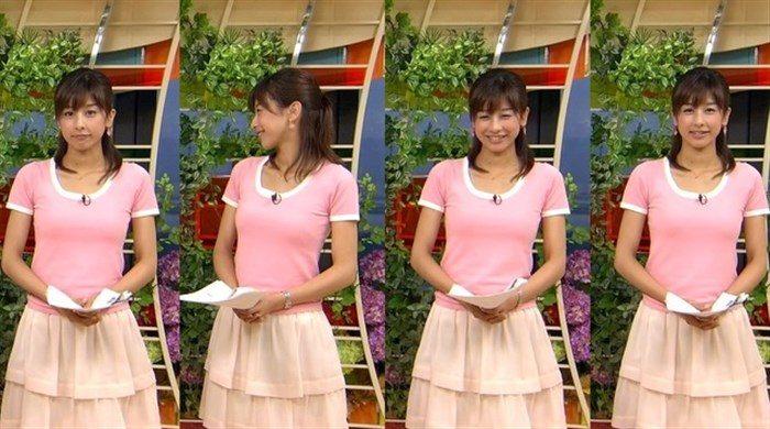 【画像】加藤綾子のEカップ着衣おっぱいが綺麗なお椀型でそっと手の平でタッチしたくなるwwww0008manshu