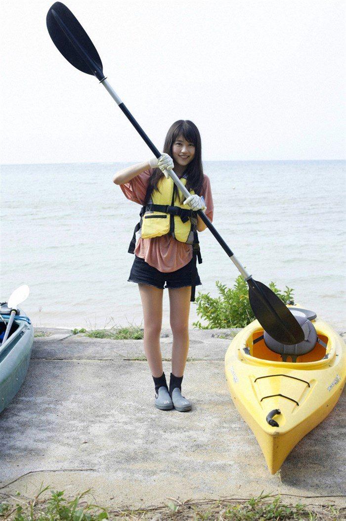 【画像】女優有村架純ちゃんの水着グラビア!!おっぱいが意外とデカいwwww0002manshu