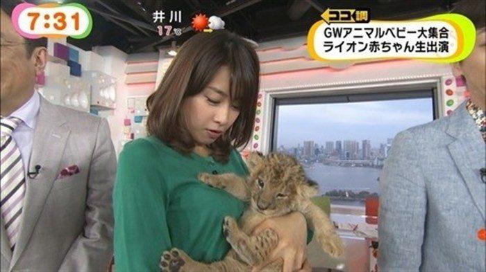 【画像】加藤綾子のEカップ着衣おっぱいが綺麗なお椀型でそっと手の平でタッチしたくなるwwww0006manshu